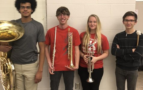Red Hurricane Band  Qualify for PMEA Honors Band