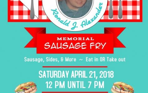 First  Annual Ronald J. Alexander Sausage Fry to  Benefit NCASD students!!!
