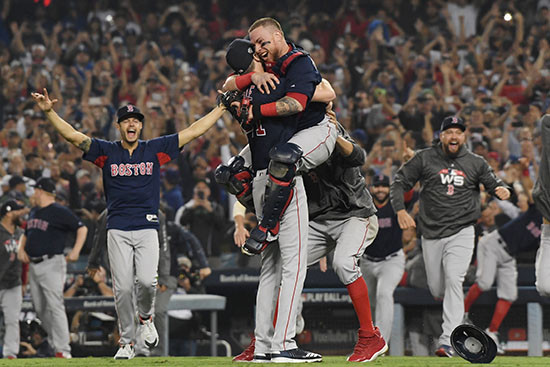 Sports UPDATE !!! Boston Red Sox Win 2018 World Series
