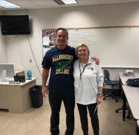 Thank you Mrs. Ingrid Lundquist our PSU Talent Search representative!! College Signing Day 2019