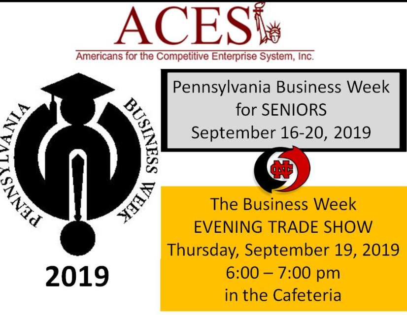 Business Week 2019!! Trade Show Thursday September 19, 2019