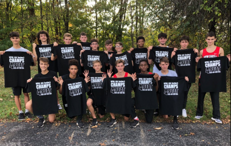 Congratulations Boys Cross Country Team WPIAL Section 5 Champs