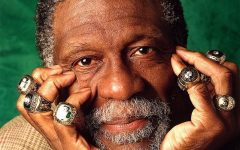 The G.O.A.T. Bill Russell Boston Celtics