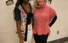 Singing with Amiliana Ford: One of New Castle Senior High Choir Students