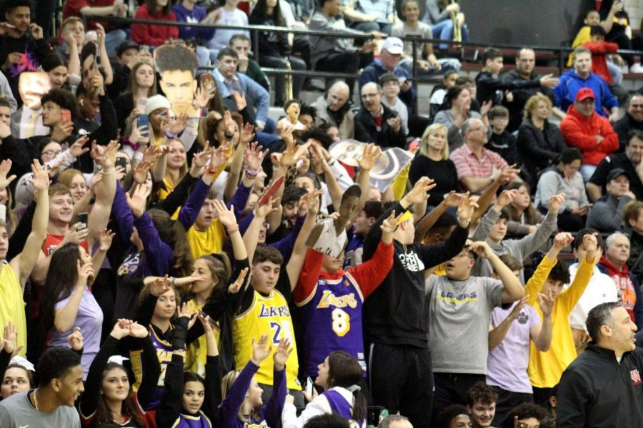 Student Section Honors All Victims Of Helicopter Crash