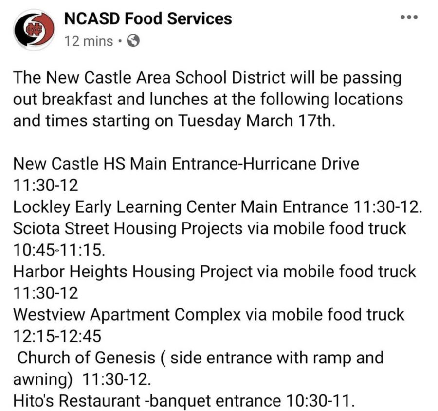 NCASD Food Services