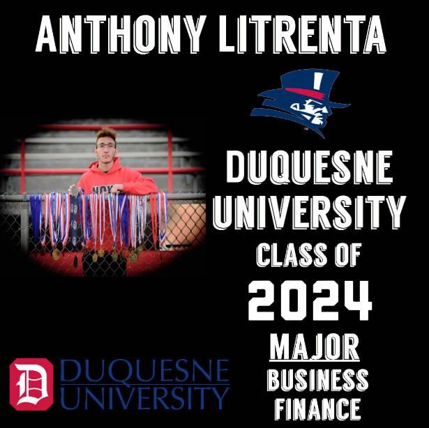 Senior Anthony Litrenta