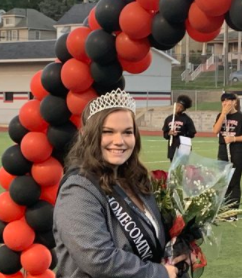 Congratulations to the NC Homecoming Queen 2020-Alexis Bethle!!!!