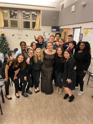 New Castle Choir Seniors and Their Thoughts